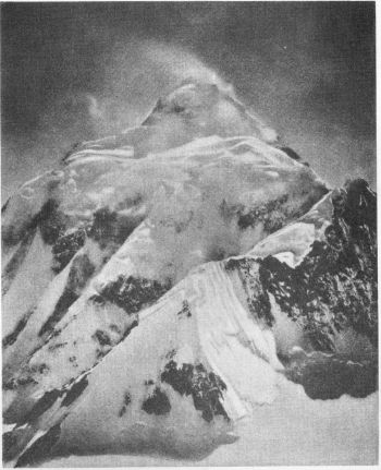 K2 FROM THE NORTH EAST.