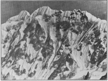 The Forked Peak from Kabur Gap. (Photo.N.A. Tombazi)