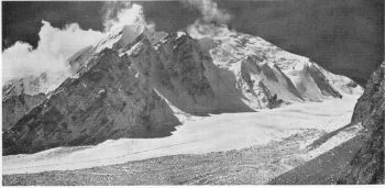 The western head of the Ronti glacier, 29th October 1936