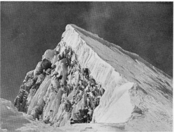 The summit of Nanda Kot, 22,530 feet, from the East, 5th October 1936