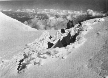 Camp VI, 1938 Nanga Parbat, 23rd - 26th  July 1938