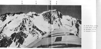 The Diamir or western flank of Nanga Parbat from the air. 18th August 1938