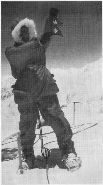 MAY 17, 1962 ON TOP OF THE PUMORI (7,145 M.)