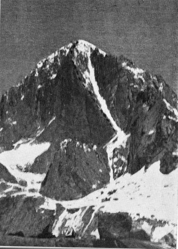 Mir Samir showing route of ascent
