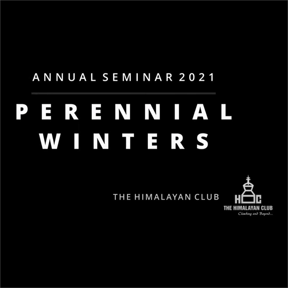 Annual Seminar 2021 - Perennial Winters