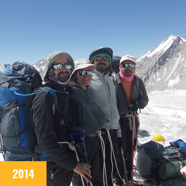 JCN 2014 - Team Rassa Glacier Expedition