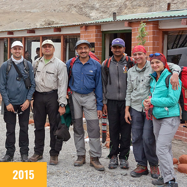 JCN 2015 - Team Ryong Kharu Expedition
