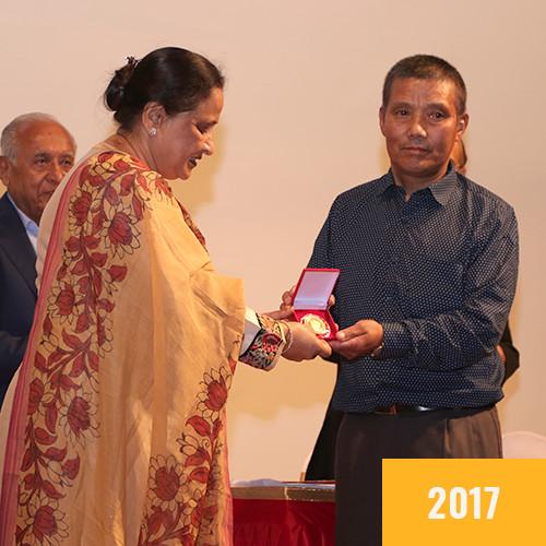 Pasang Phutar Sherpa (JCN 2017)