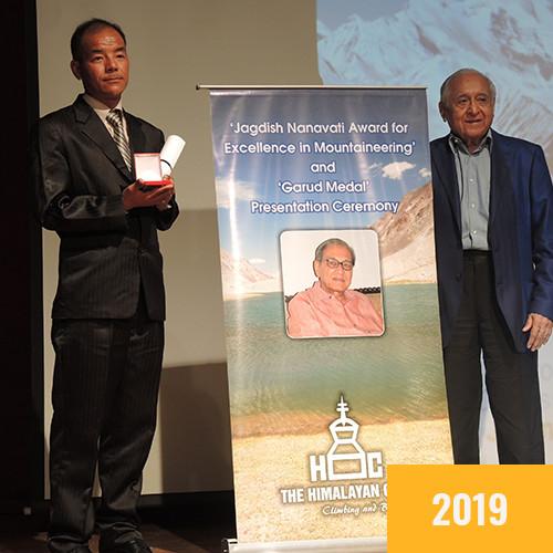 Nim Dorjee Sherpa (JCN 2019)