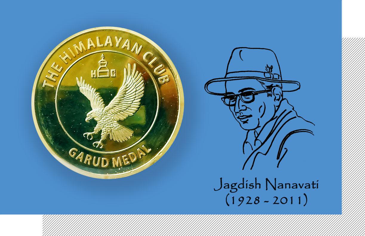 JCN Garud Gold Medal